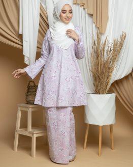 Dhiya Kurung Pahang - Pink
